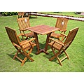 Royal Tahiti 'Gibraltar' 5-piece Outdoor Dining Set