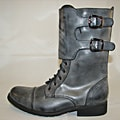 Bucco Womens Lace Up Combat Boots