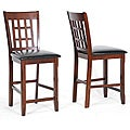 Amber Counter Height Stools (Set of 2)