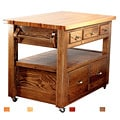 Bradley Brand Furniture Buffalo River Kitchen Island
