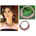 Rose Quartz 'Morning Rose' Pink Aventurine Jasper Choker (Thailand)