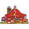 Melissa & Doug 32-piece Farm Friends Floor Puzzle Set
