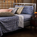 Harbour Paisley Full-size Microfiber Sheet Set