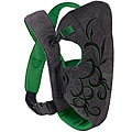 Evenflo Snugli Front Soft Carrier in Green Roses