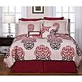 Cherry Blossom 8-piece King-size Comforter Set