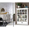 Interior White Bookcase