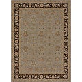 Dorchester Grey/ Expresso Powerloomed Rug (12' x 15')