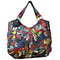 Amerileather Amelia Patchwork Leather Shoulder-strap Tote Bag