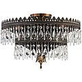 Crystorama Alhambra Fiesta 5-light Semi-flush Fixture