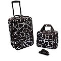 Rockland 'Giraffe' Lightweight 2-Piece Carry-On Luggage Set