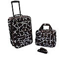 Rockland &#39;Giraffe&#39; Lightweight 2-Piece Carry-On Luggage Set