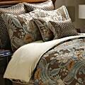 Rasmussen Mocha 8-piece King Comforter Set