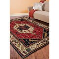 Hand-tufted Mitchell Semi-worsted New Zealand Wool Rug (5' x 8')