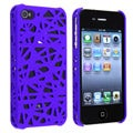 Dark Blue Bird Nest Snap-on Case for Apple iPhone 4/ 4S