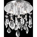 Chrome 3-Light Chandelier