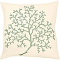 'Fortune' Down 18x18 Decorative Pillow
