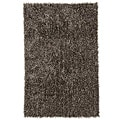 Hand Woven Brown Contemporary Area Rug (7' 6 x 9' 6)