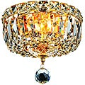 Gold 2-Light Chandelier