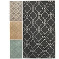 Handmade Luna Easy Care Trellis Rug (5&#39; x 8&#39;)