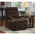 New Creations Bailey Power Lift Chocolate Contemporary Recliner