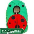 Ladybug Infant Car Seat Fleece Cover