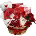 Art of Appreciation 'Valentines Treasures' Teddy Bear Gourmet Gift Basket