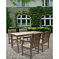 Renaissance 5-piece Table/ Armchair Outdoor Dining Set