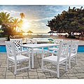 Bradley 7-piece Table/ Armchair Outdoor Dining Set