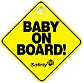 Safety 1st Baby On Board Signs (Pack of 2)