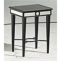 Black Mirror Accent Table