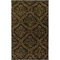 Hand-tufted Averlo Brown Area Rug (5' x 8')