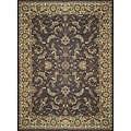 Dorchester Chocolate/ Beige Rug (9'8 x 12'8)