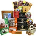 Art of Appreciation Gift Baskets: World Traveler Gift Tower - International Collection of Decadent Chocolate Treats