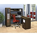 Bestar Tuxedo Jazz Corner Workstation