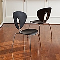 Christopher Knight Home Anderson Brown Modern Chairs (Set of 2)