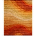 Hand-tufted Wool Rec Desert Rug (7'9 x 9'9)