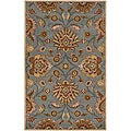 Hand-tufted Sky Blue Paz Wool Rug (9' x 12')