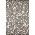 Hand-hooked Casual Area Rug (2&#39; x 3&#39;)