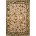 Hand-tufted Ivory/ Green Wool Rug (2&#39; x 3&#39;)