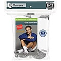 Hanes Classics Men's White Crew Socks (Pack of 6)