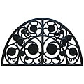 Rubber-Cal 'Irish Garden' Rubber Cast Iron Door Mat (18 x 30)