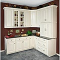 Antique White 30 x 18 in. Wall Kitchen Cabinet