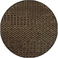 Hand-tufted Hesiod Brown Rug (8&#39; x 8&#39; Round)