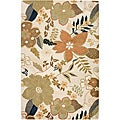 Hand-tufted Hesiod Blanc Rug (9&#39; x 12&#39;)