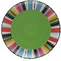 Certified International Santa Fe Round Platter