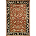 Hand-tufted Goa Rust Wool Rug (8' x 10')