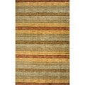 Hand-loomed Loft Stripes Multi Wool Rug (9'6 x 13'6)