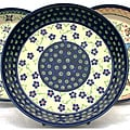 Polish Stoneware Pie Dish (Poland)