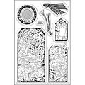 Stampendous 'Timeless Tags' Perfectly Clear Stamps
