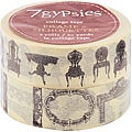 7 Gypsies &#39;Frames &amp; Silhouettes&#39; Collage Tape
